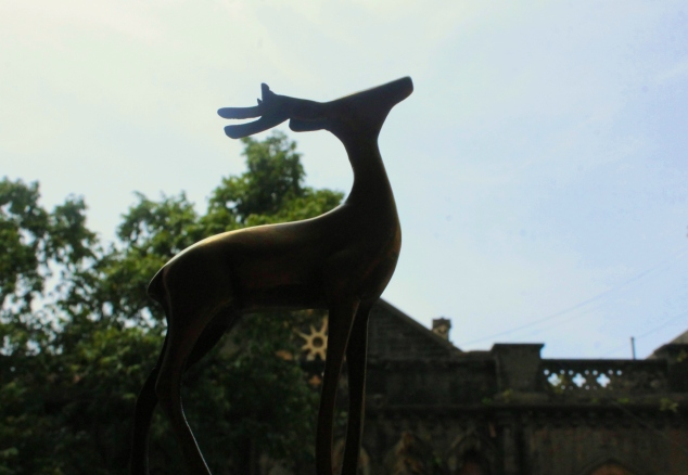 A Brass Stag